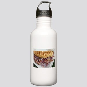 pulled pork waffle wit Stainless Water Bottle 1.0L