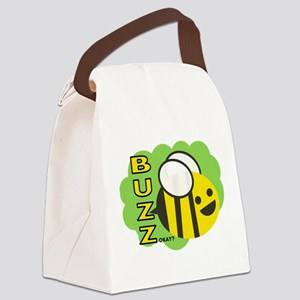 Buzz Canvas Lunch Bag