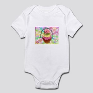 Powered by Vegan Cupcakes Infant Bodysuit