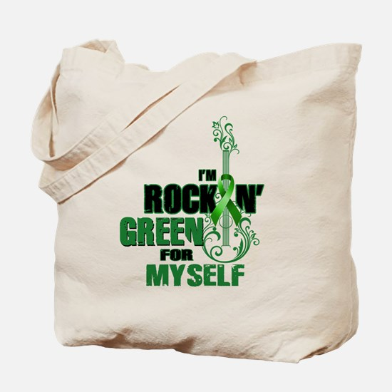 RockinGreenForMyself Tote Bag