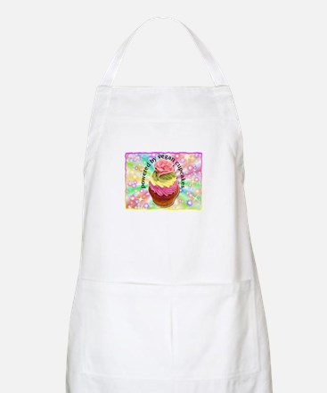 Powered by Vegan Cupcakes BBQ Apron