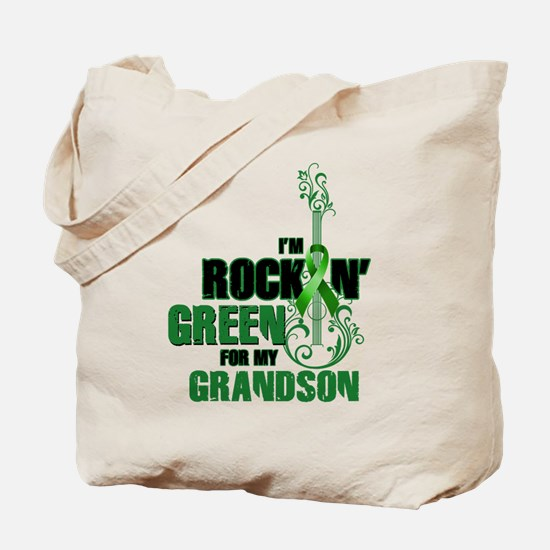 RockinGreenForGrandson Tote Bag