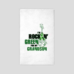 RockinGreenForGrandson Area Rug