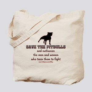 Save The Pit bulls Tote Bag