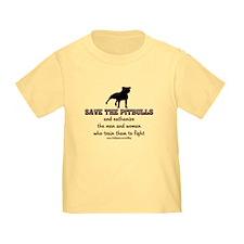 Save The Pit bulls Toddler T-Shirt