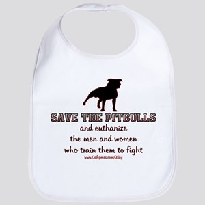 Save The Pit bulls Bib