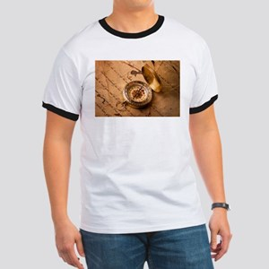 Vintage Compass On Old Paper T-Shirt