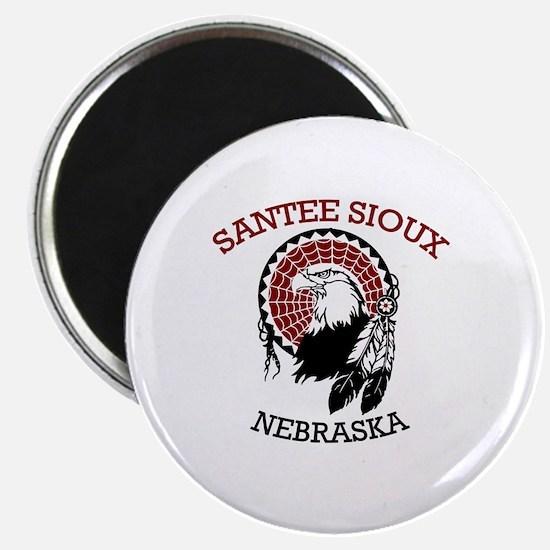 Santee Sioux Magnet