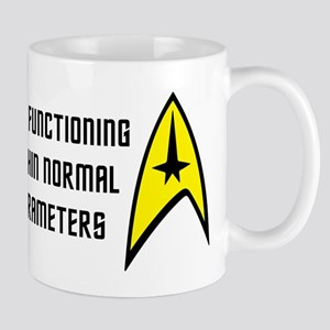 Star Trek: Normal Parameters 11 oz Ceramic Mug