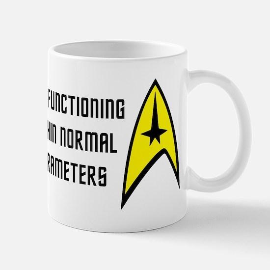 Star Trek: Normal Parameters Mug