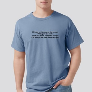 99 bugs in the code on the screen... T-Shirt