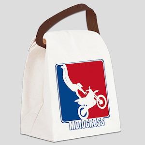 Major League Motocross Canvas Lunch Bag