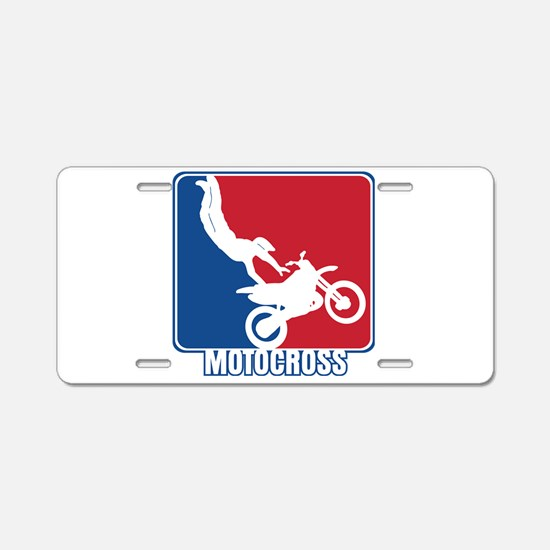 Major League Motocross Aluminum License Plate