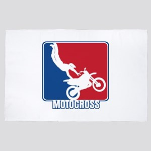 Major League Motocross 4' x 6' Rug