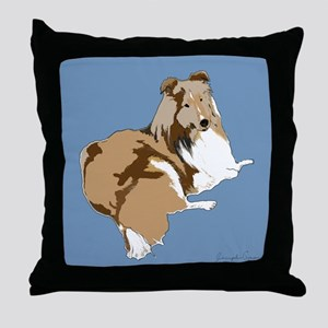 The Artsy Dog Throw Pillow