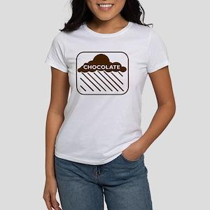'Rain Cloud Chocolate' Women's T-Shirt