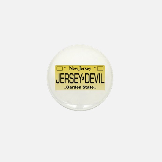 Jersey Devil NJ Tag Gifts Mini Button