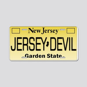 Jersey Devil NJ Tag Gifts Aluminum License Plate