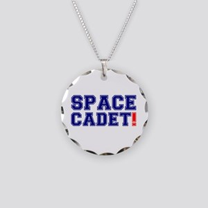 SPACE CADET! Necklace Circle Charm