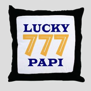Lucky Papi Throw Pillow