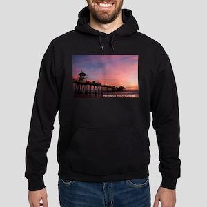 Huntington Beach, California Pier Sweatshirt