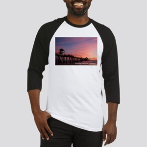 Huntington Beach, California Pier Baseball Jersey