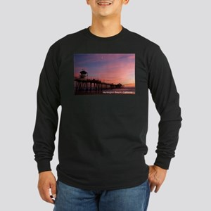 Huntington Beach, California P Long Sleeve T-Shirt