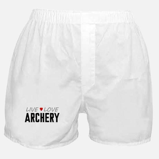 Live Love Archery Boxer Shorts