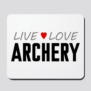 Live Love Archery Mousepad