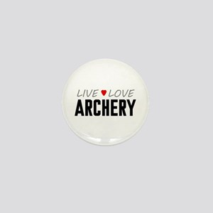 Live Love Archery Mini Button