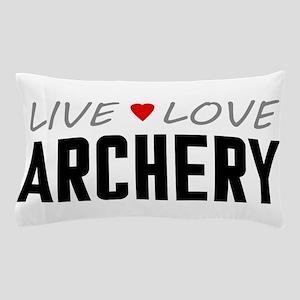 Live Love Archery Pillow Case