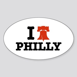 I Love Philly Oval Sticker