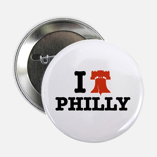 I Love Philly Button