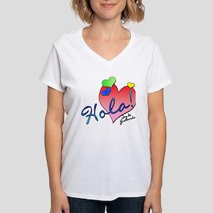 Hola! Soy de Guatemala! Women's V-Neck T-Shirt