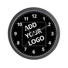 Your Logo Here Wall Clock
