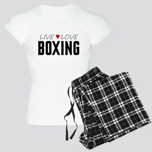Live Love Boxing Women's Light Pajamas