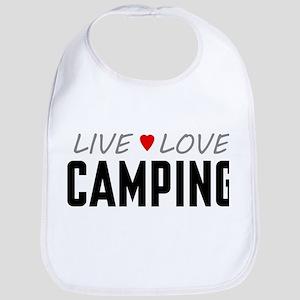 Live Love Camping Bib