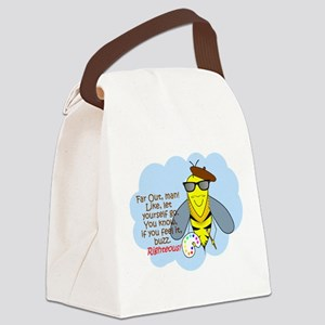 Righteous Canvas Lunch Bag