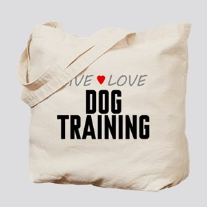 Live Love Dog Training Tote Bag