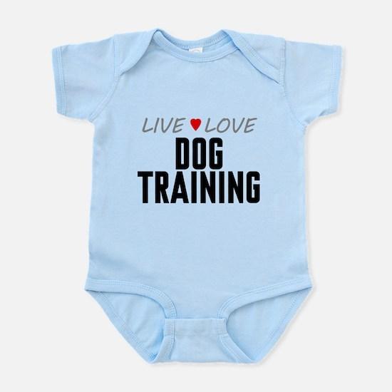 Live Love Dog Training Infant Bodysuit