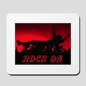 ROCK ON~MOSH! Mousepad