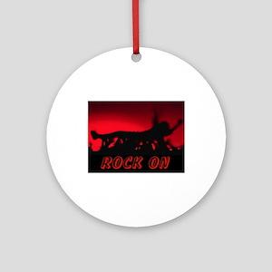 ROCK ON~MOSH! Ornament (Round)