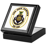 USS JOHN HANCOCK Keepsake Box