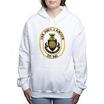 USS JOHN HANCOCK Women's Hooded Sweatshirt