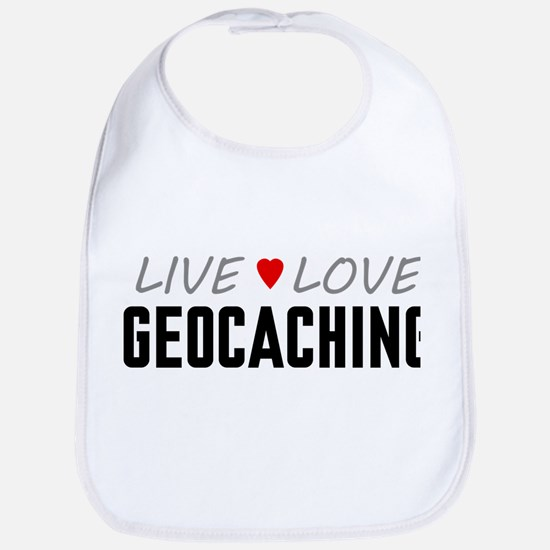 Live Love Geocaching Bib