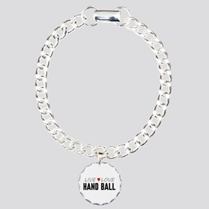 Live Love Hand Ball Charm Bracelet, One Charm