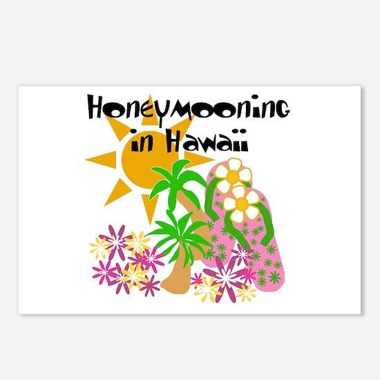 Honeymoon Hawaii Postcards (Package of 8)