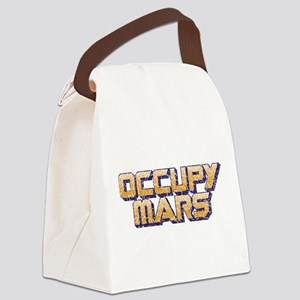 Occupy Mars Canvas Lunch Bag