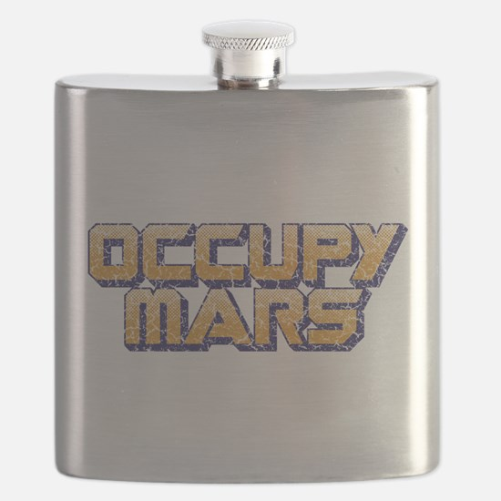 Occupy Mars Flask