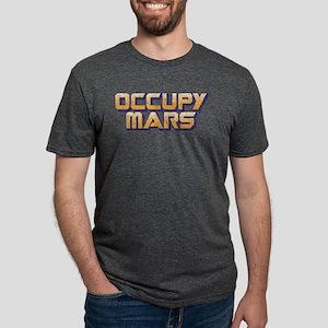 Occupy Mars Mens Tri-blend T-Shirt
